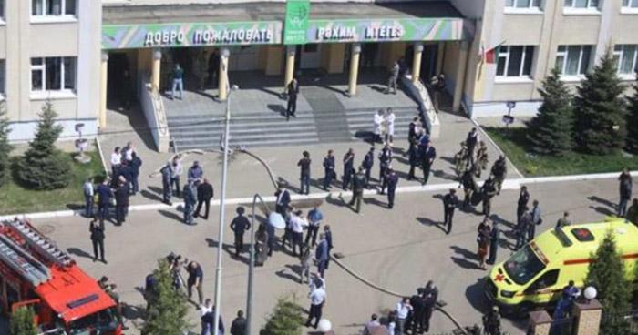Tiroteo en una escuela en Rusia deja al menos 8 muertos