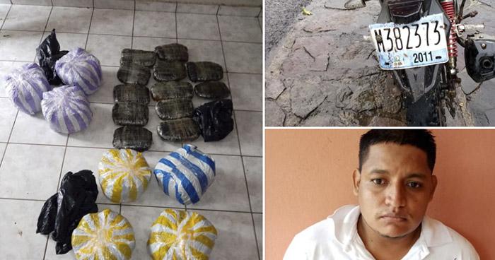 Detenido con $25 mil en droga en Ahuachapán
