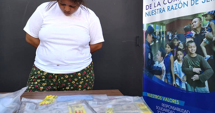 Arrestan a líder de una estructura dedicada al tráfico de drogas en Mejicanos