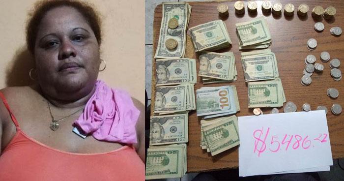 Incautan más de 5 mil dólares a traficante de drogas que operaba en La Unión