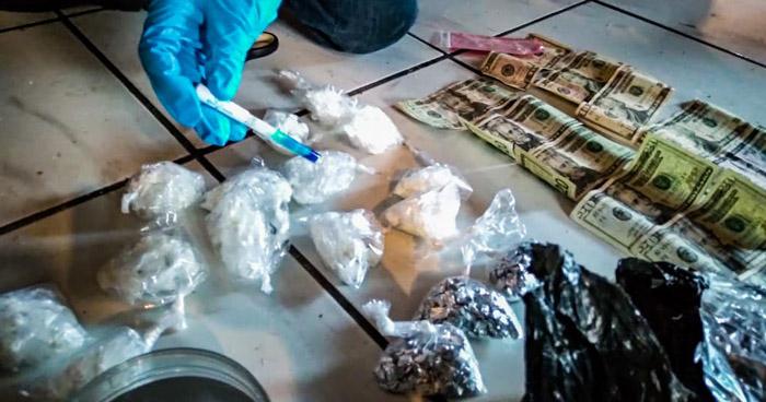 Capturan a distribuidor de drogas en La Libertad