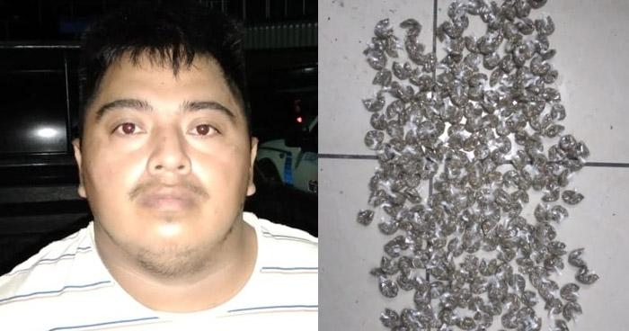 Capturan a pandilleros cuando distribuian drogas