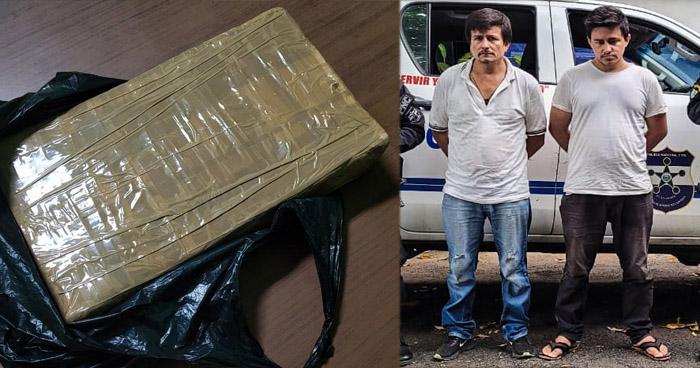 Capturados cuando transportaban $25 mil en droga en San Miguel