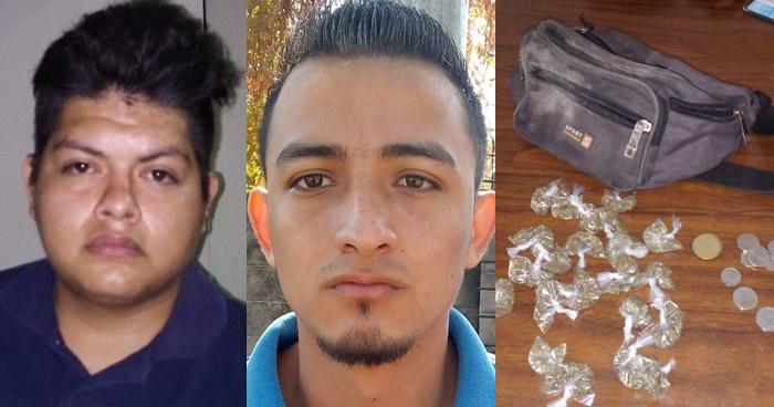 Capturados por violación de una menor y trafico de drogas en Cuscatancingo