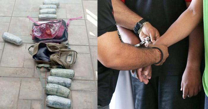 Tres detenidos cuando transportaban Marihuana en Ahuachapán