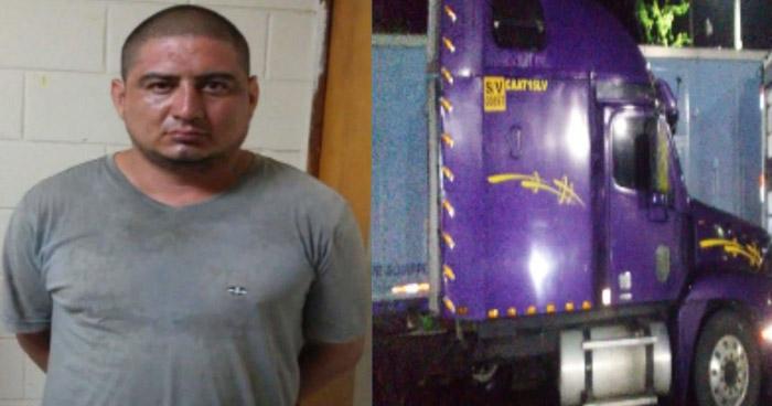 Conductor de cabezal transportaba más de $10 mil en droga