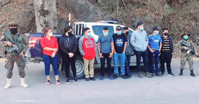 Interceptan a grupo que pretendía llegar a EE.UU. de manera ilegal