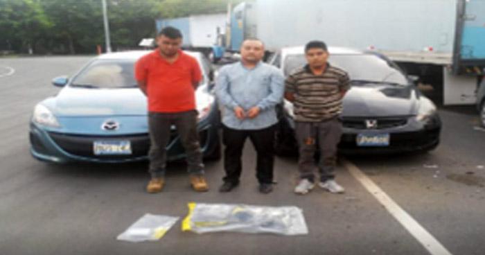 Capturados en transacción de droga en Ahuachapán