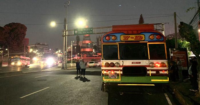 Unidades del transporte público circulan con normalidad este lunes