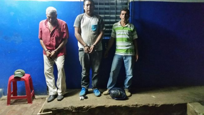 Tres sujetos son detenidos en la frontera Las Chinamas con varias porciones de cocaína