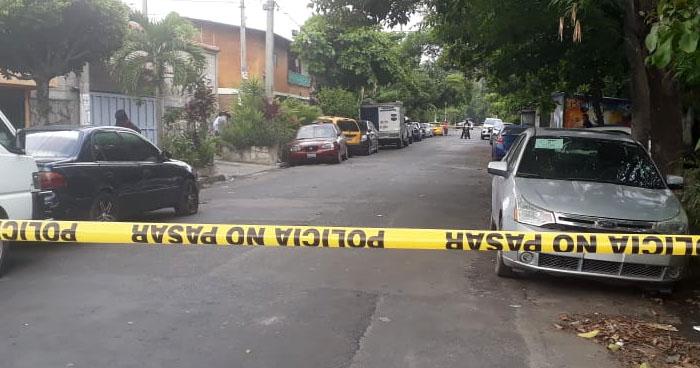 Pandillero y dos familiares fueron asesinados en colonia Amatepec de Soyapango