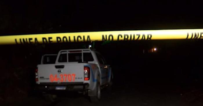 Tres hombres fueron asesinados a balazos en un cantón de Nejapa