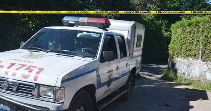 Triple homicidio en calle al Boquerón de San Salvador