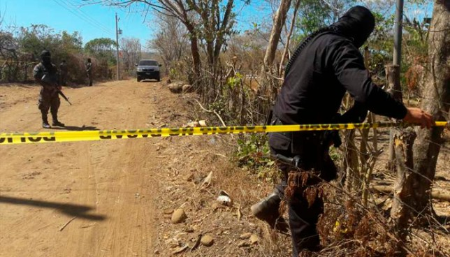 Tres hombres fueron asesinados esta mañana en Santa Clara, San Vicente