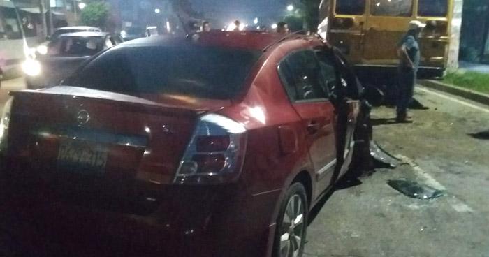 Un fallecido dejó fuerte choque en carretera Troncal del Norte