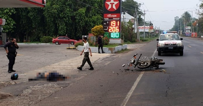 Muere empleado municipal tras choque en carretera Troncal del Norte