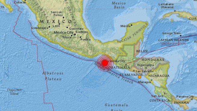 Existe amenaza de Tsunami para El Salvador, Mexico y Centro America
