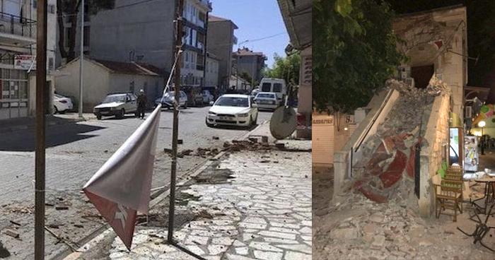 Terremoto en Turquía deja varios heridos y 900 edificios dañados
