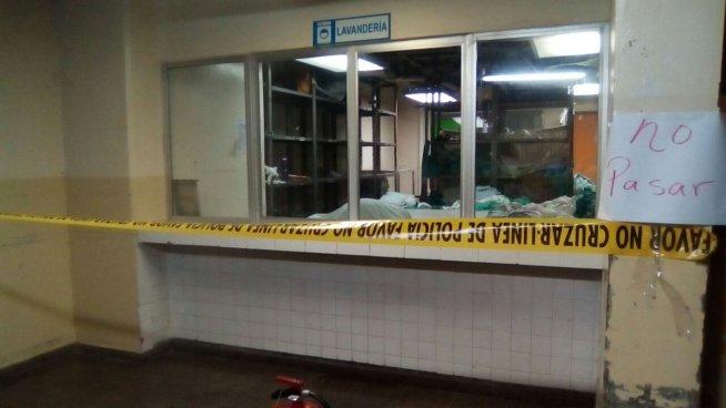 Incendio alarmo a los pacientes del hospital San Juan de Dios