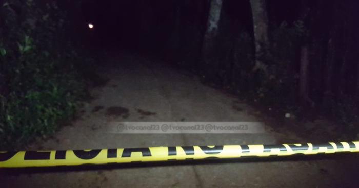 Un joven fue asesinado a balazos por un grupo de sujetos en Osicala, Morazan