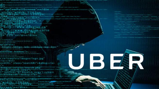 UBER oculto un hackeo masivo que expuso datos de 57 millones de usuarios y conductores