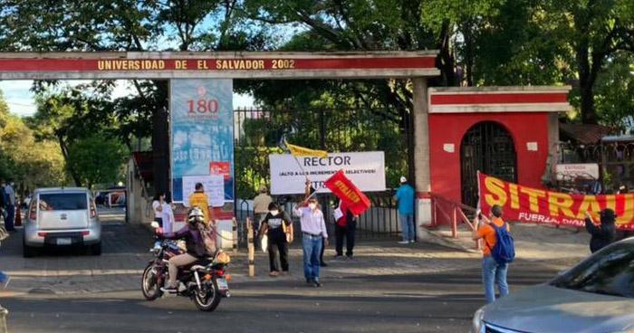 Denuncia incrementos salariales selectivos en Universidad de El Salvador