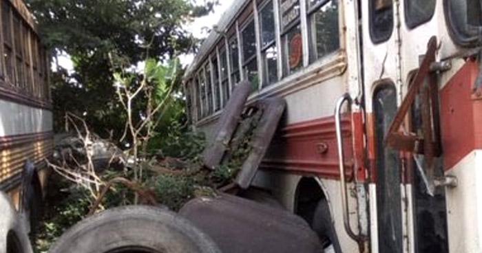Unidades de transporte inservibles recibieron subsidio durante años, afirma Ministro