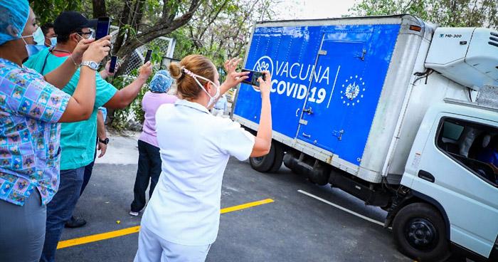 Primeras dosis de la vacuna contra la COVID-19 serán aplicadas Unidad Médica Atlacatl