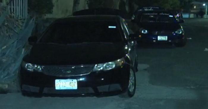 Capturan a delincuentes que robaron un vehículo que funcionaba como UBER