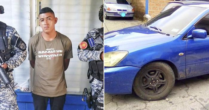 Detenido con vehículo robado en Bulevar del Ejército