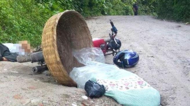 Asesinan a balazos a hombre vendedor de pan en San Miguel