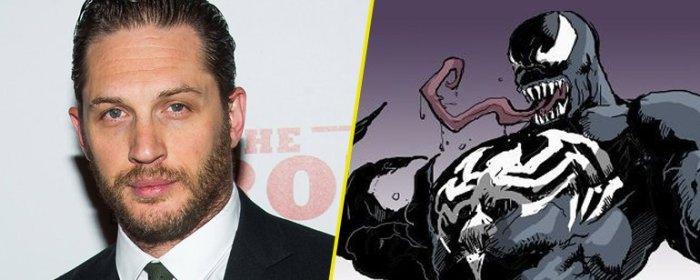 """Tom Hardy interpretará a """"Venom"""""""