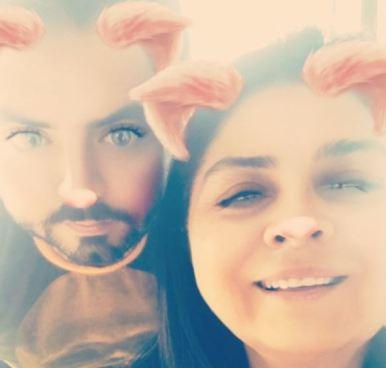 Victoria Ruffo resulto ser una madre sobre protectora con su hijo José Deberz