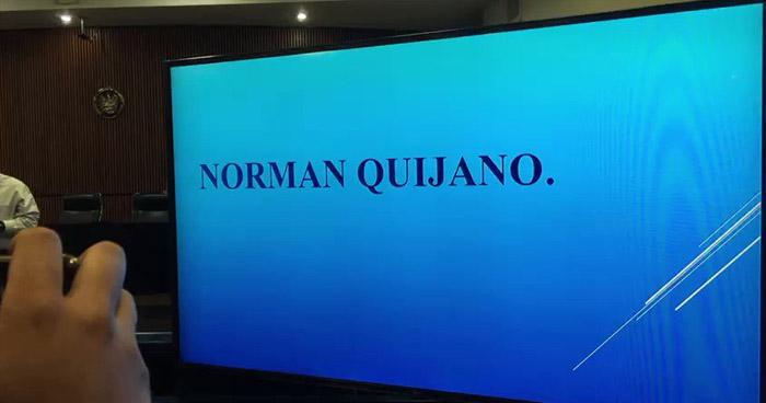 Juez muestra en fallo el video de Norman Quijano reunido con pandilleros