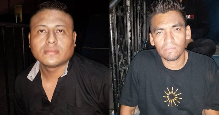 Vigilantes capturados por homicidio y privación de libertad ocurrido anoche en Night Club Emporium