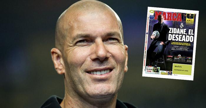 CONFIRMADO: Zidane regresa al Real Madrid