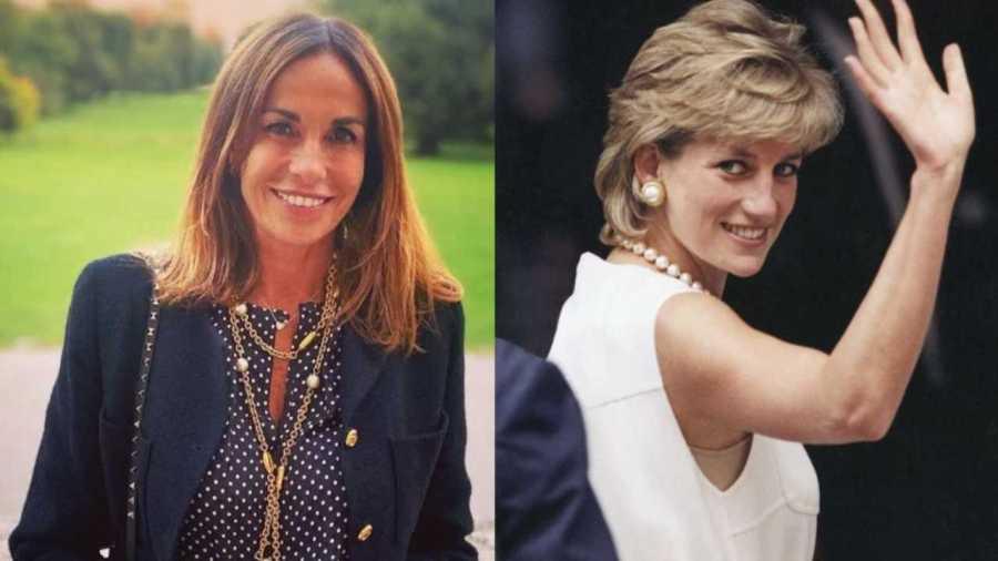 Lady Diana cena Benedetta Parodi - Solonotizie24