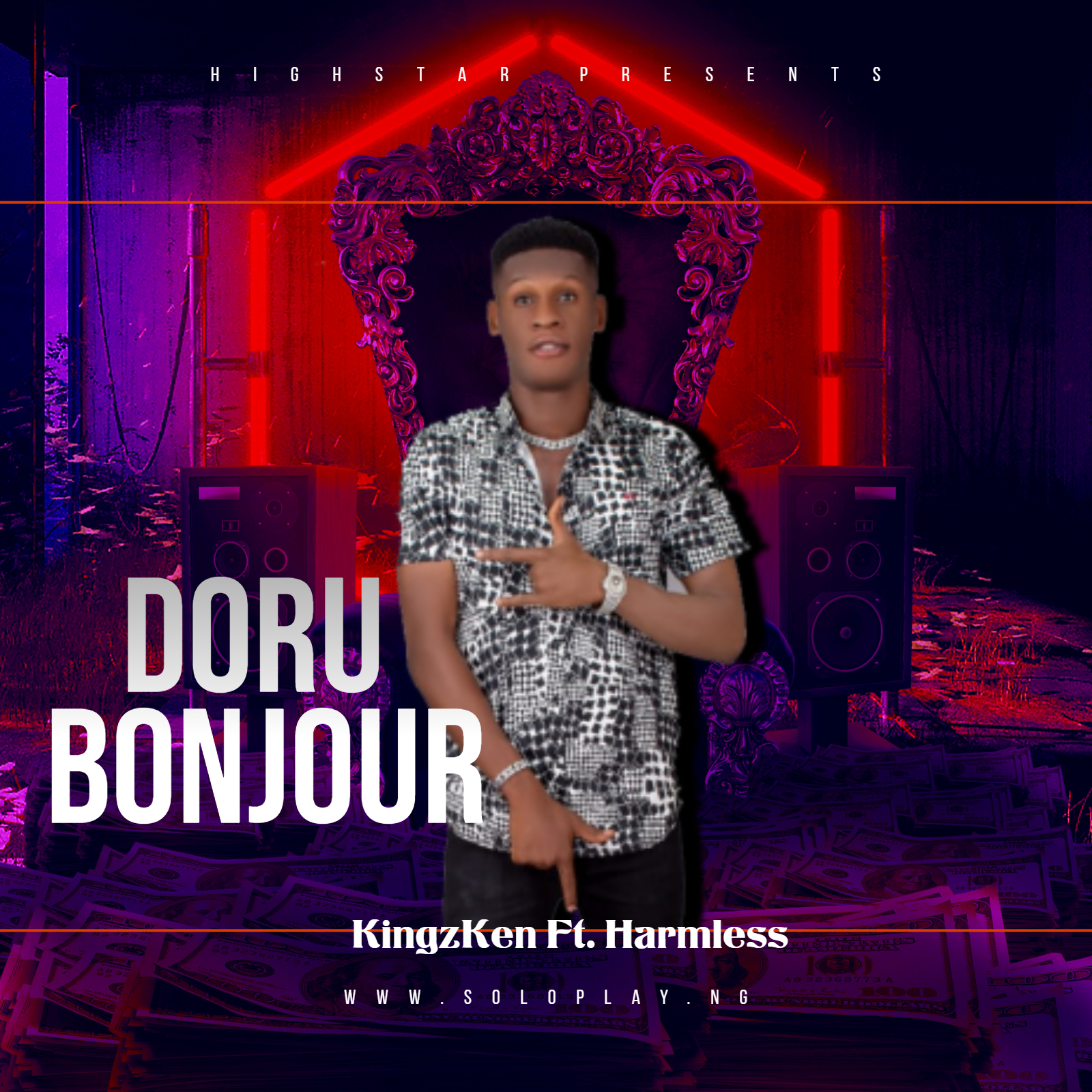 KINGZKEN FT HARMLESS – DORU BONJOUR