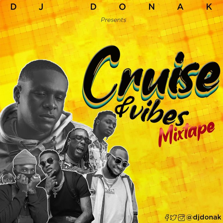 DJ Donak Cruise and Vibes Mix 768x768 1