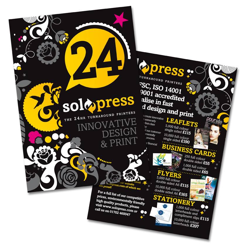 How To Design Your Flyers And Leaflets - Solopress