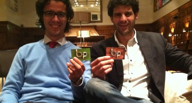 BrandPhoto co-founders Matthieu Pinauldt and Miguel Mayher