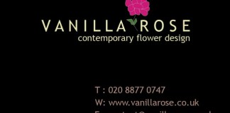 Vanilla Rose London florist Rachael Roberts in the Solopress Printing Spotlight