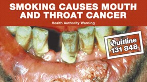 Solopress Design Insight mouth cancer anti smoking poster