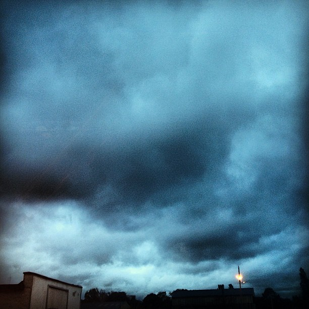 Cloudy Sky Instagram photo Copyright Solopress 2012