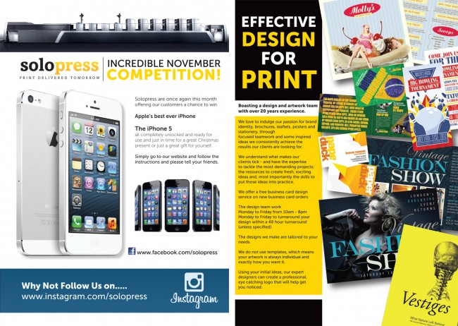 How to design a company brochure in the Solopress Printing blog