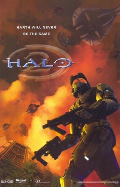 Solopress Design Insight Halo 2 video game poster