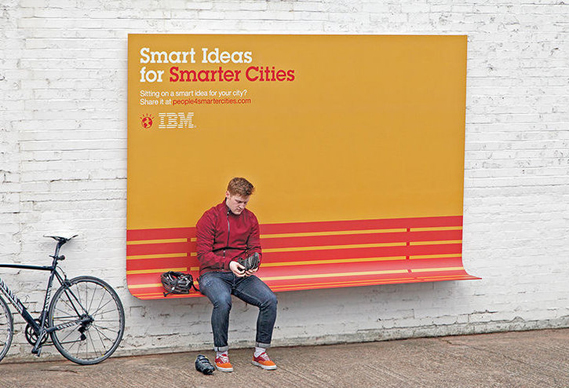 IBM billboard advertising