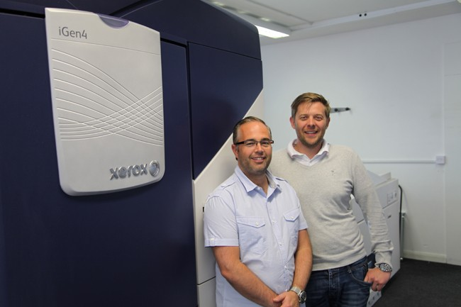 Third Xerox iGen4 digital printing press at Solopress