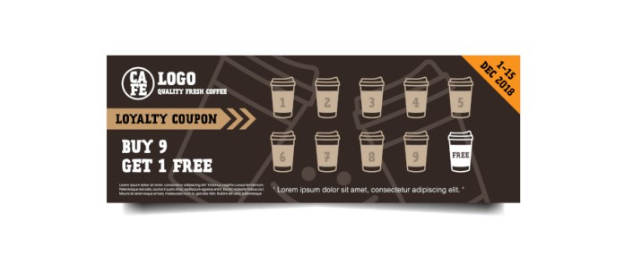 Coffee Shop Loyalty Card