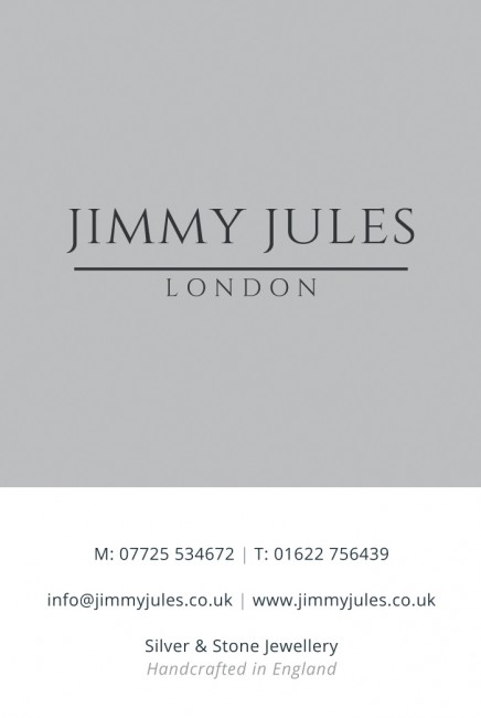 Jimmy Jules London business cards front